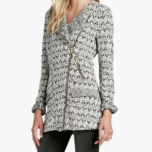 Lucky Brand Marnie long asymmetrical jacket